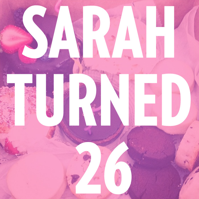 Sarah West Ervin turns 26