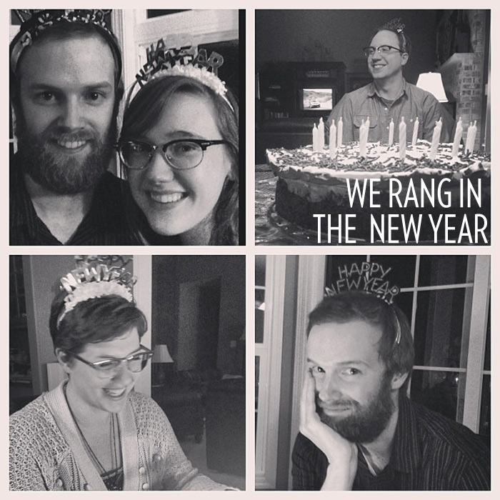 Rang in the New Year