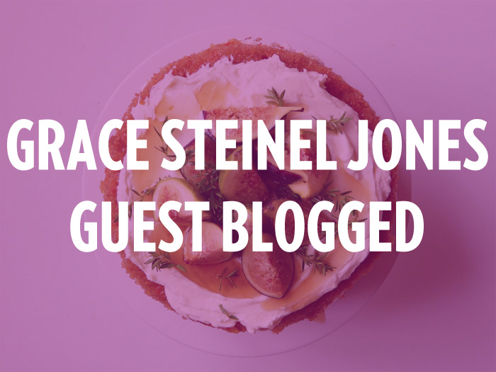 Grace Steinel Jones started guest blogging