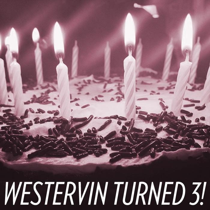 Westervin turned 3