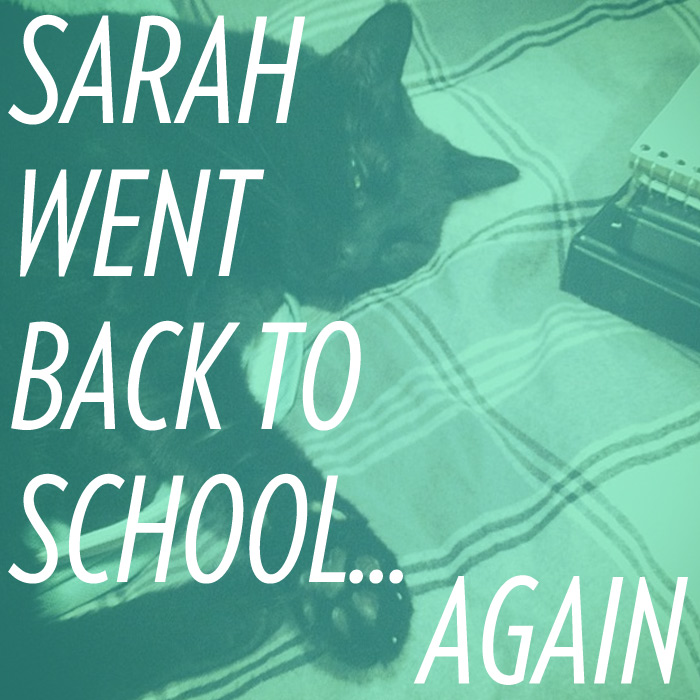 Sarah West Ervin went back to school