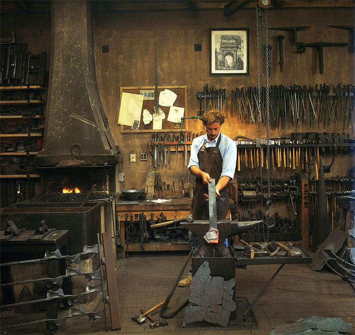 Blacksmith Tom Joyce
