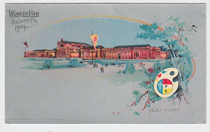 Louisiana Purchase Universal Exposition 1904, Palace of Arts