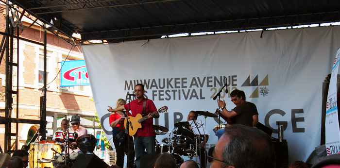 Milwaukee Avenue Arts Festival 2013