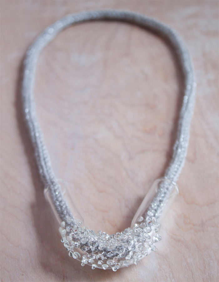 handmade necklace by Arlie Trowbridge