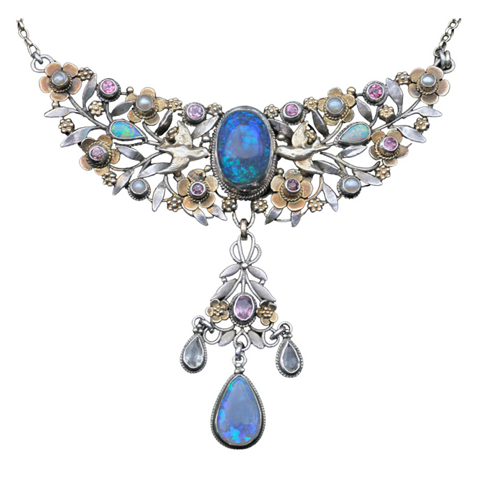 Arts and Crafts necklace by Arthur and George Gaskin