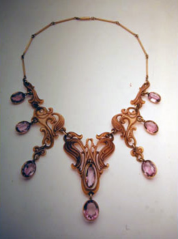 Arts and Crafts necklace by Brainerd Bliss Thresher