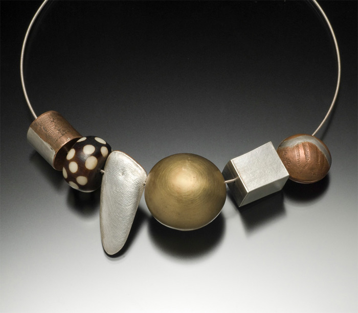 handmade necklace by Edith Robertson