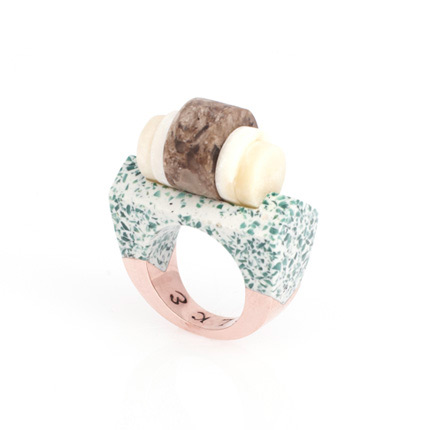 handmade ring by Elke Kramer