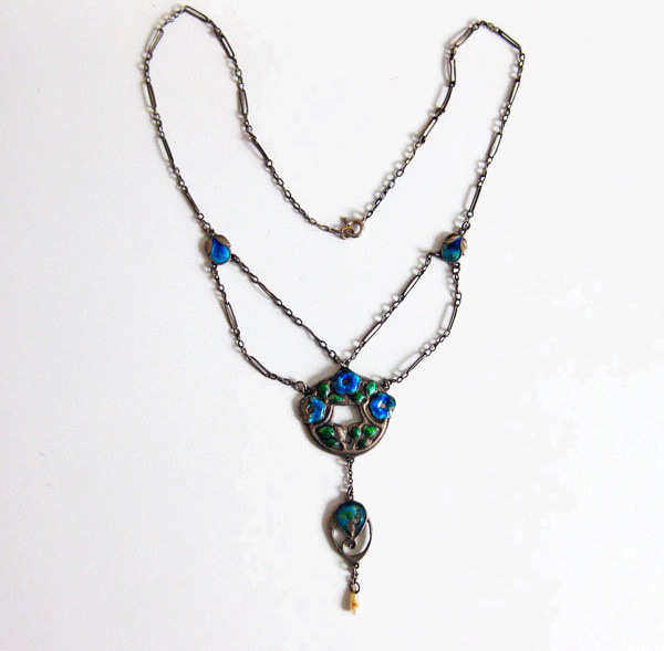 Arts and Crafts necklace by Murrle Bennett