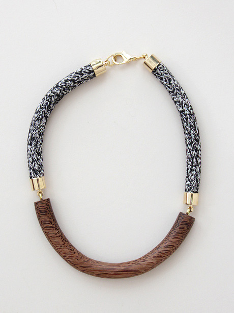 necklace by Orly Genger