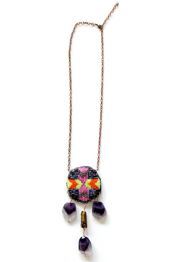 handmade necklace by Pauli Ochi