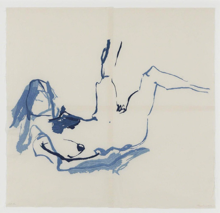 embroidery by Tracey Emin