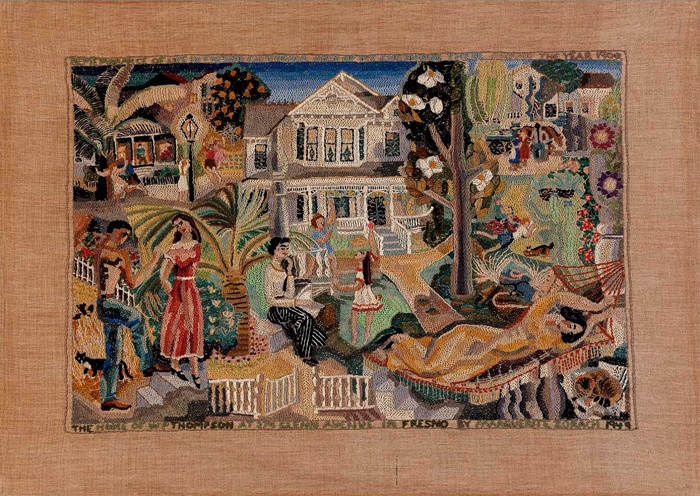 Embroider by Marguerite Zorach, 1900