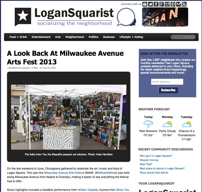 Screengrab: Westervin mentioned on LoganSquarist