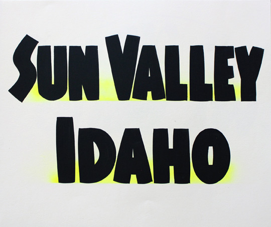 Sun Valley Idaho by Baron Von Fancy