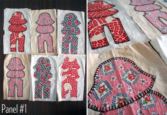 Westervin: Gramma's Quilt Panel #1