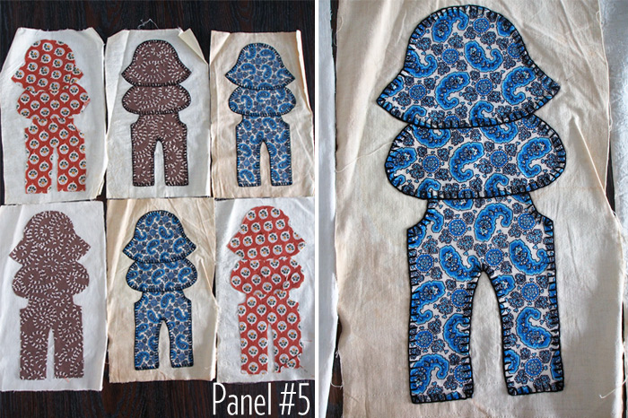 Westervin: Gramma's Quilt Panel #5