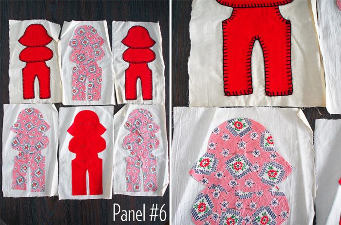 Westervin: Gramma's Quilt Panel #6