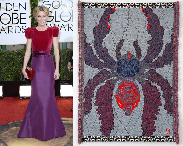 Who Are You Pairing? 2014 Golden Globes: Julie Bowen and Kustaa Saksi