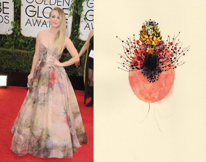 Who Are You Pairing? 2014 Golden Globes: Kaley Cuoco and Jenny Brown