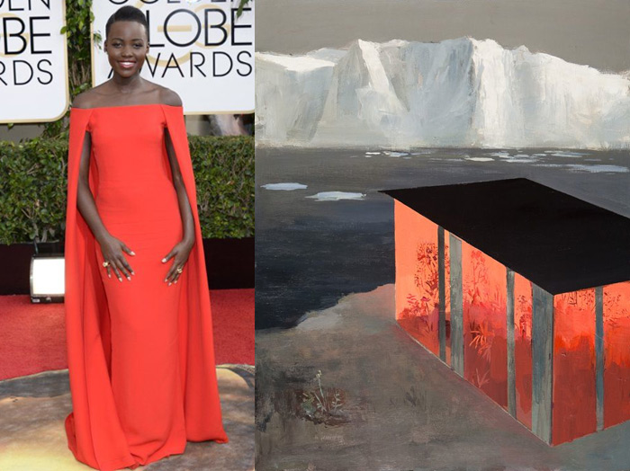 Who Are You Pairing at the 2014 Golden Globes: Lupita Nyong'o and Jeremy Miranda