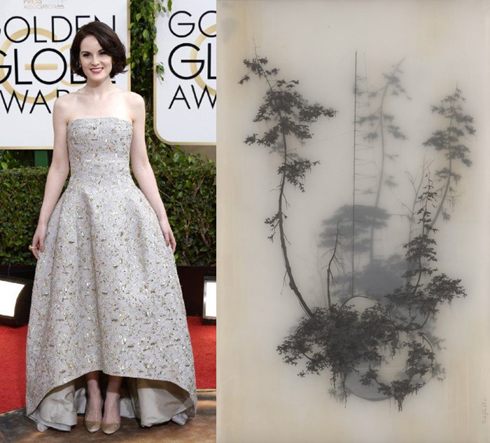 Who Are You Pairing? 2014 Golden Globes: Michelle Dockery and Brooks Salzwedel