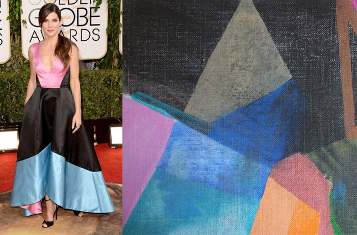 Who Are You Pairing? 2014 Golden Globes: Sandra Bullock and Erin Flannery
