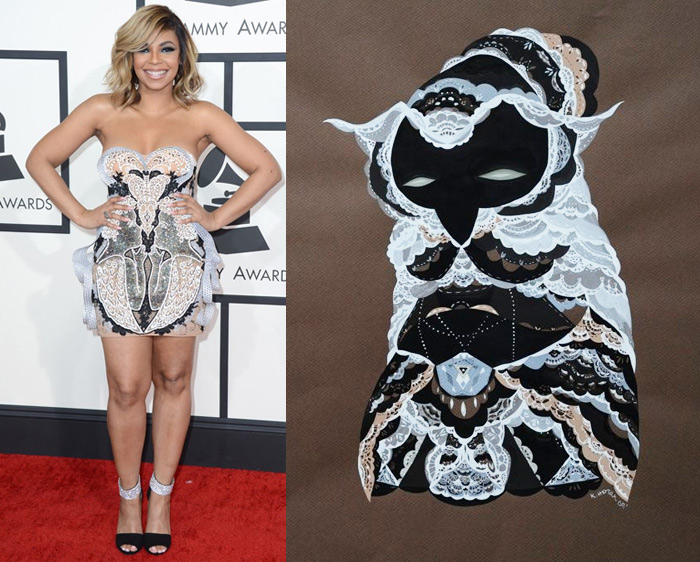 Who Are You Pairing? 2014 Grammy Awards: Ashanti and Katy Horan