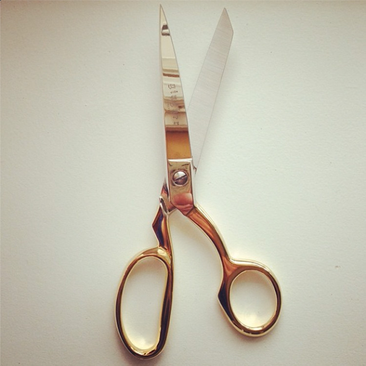 New Gold Scissors!