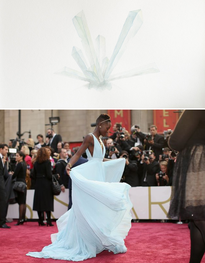 Who Are You Pairing? 2014 Oscars: Lupita Nyong'o and Erika Podlovics