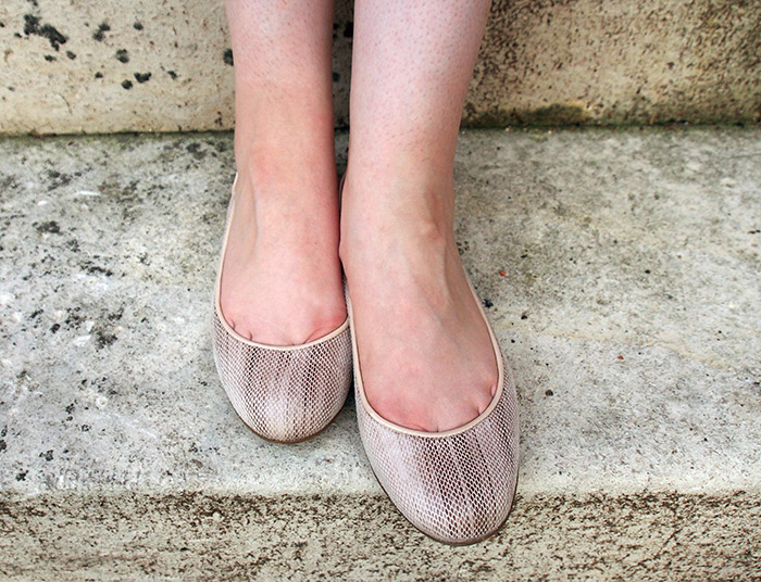 Westervin Blog: Faux Lizard Skin Flats from Blake Brody
