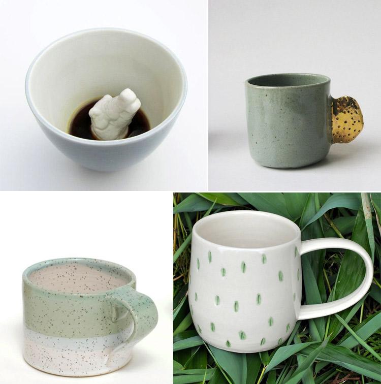 Westervin Roundup: handmade mugs from Creature Cups, Bridget Bodenham, Covet & Ginger, and Dahlhaus