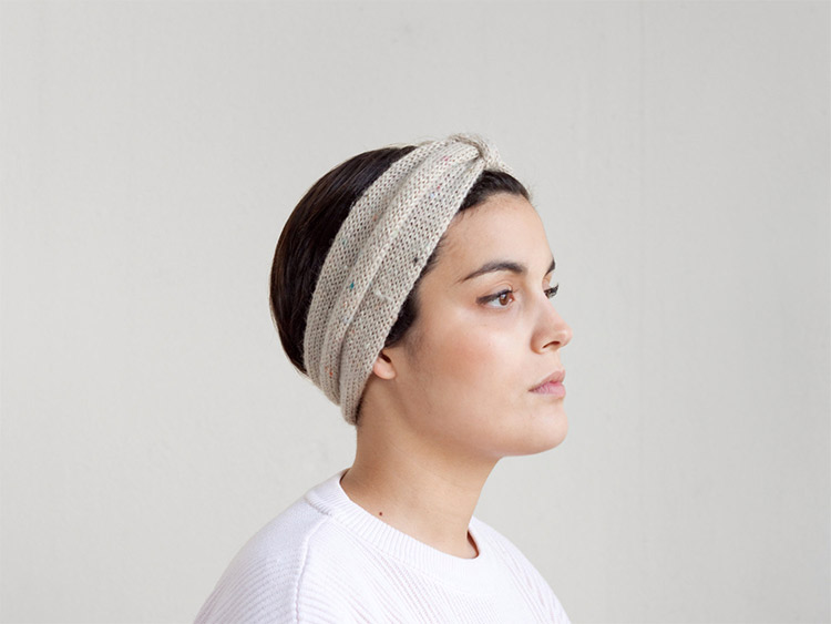Westervin F/W 2014 Inspiration:  Hand-Knit Headband by Camelotia