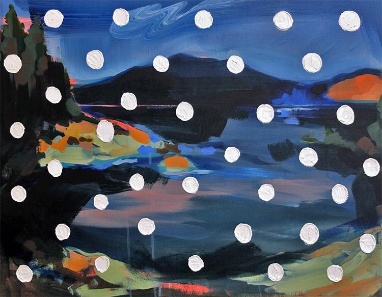 """Galiano Island"" painting by Liz Toohey-Wiese"
