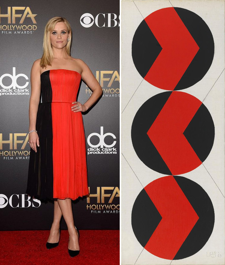 Reese Witherspoon at the 2014 Hollywood Film Awards and Leon Polk Smith