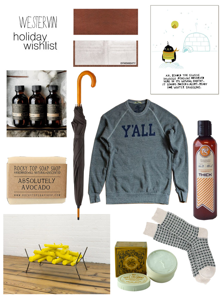 Westervin Wishlist: 30 Gift Ideas for the Classy Guy