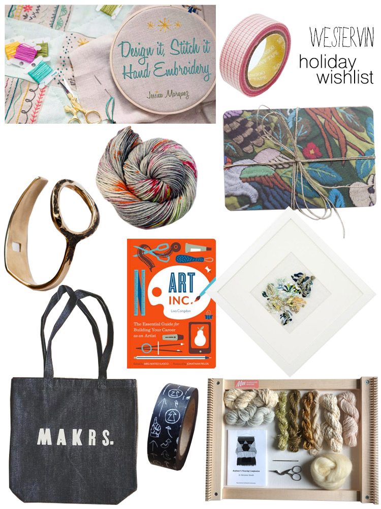 Westervin Wishlist: 30 Gift Ideas for the Quirky Crafty Gal