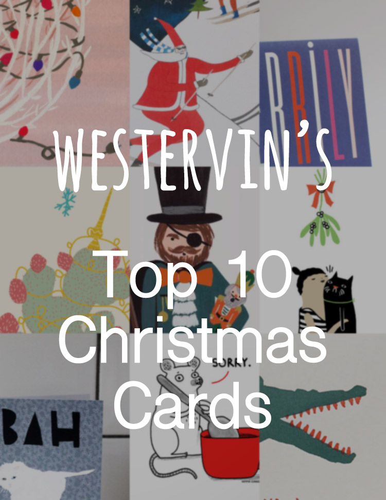 Westervin's Top 10 Christmas Cards
