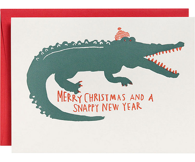 Snappy New Year Christmas Card