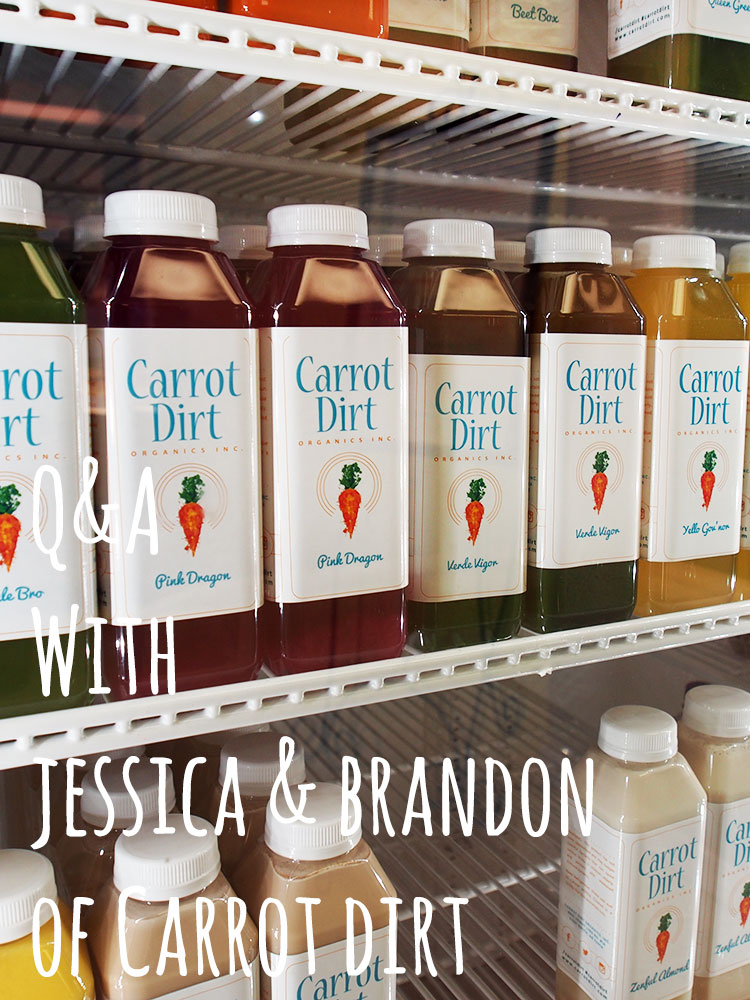 Q&A with Jessica & Brandon of Carrot Dirt Organics, Inc.