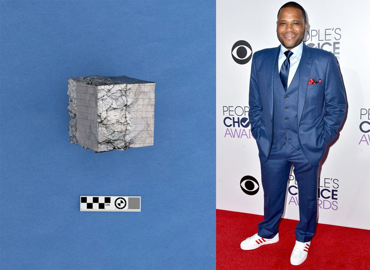 Exotic Matter 2 - Cube Extracted by Zachary Dean Norman; Anthony Anderson at the 41st Annual People's Choice Awards Red Carpet