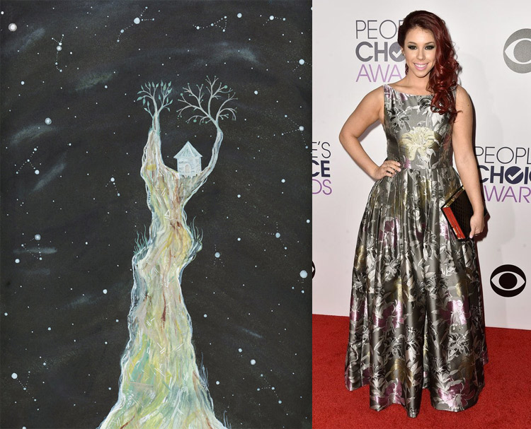 Secret Universe 03 by Elise Mahan; Jillian Rose Reed at the 41st Annual People's Choice Awards Red Carpet
