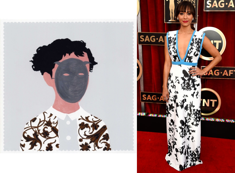 Self Portrait 4 by Mareike Auer; Rashida Jones at the 21st Annual Screen Actors Guild Awards