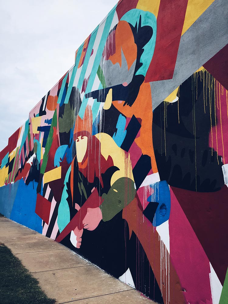 Maser mural in Fort Smith, AR