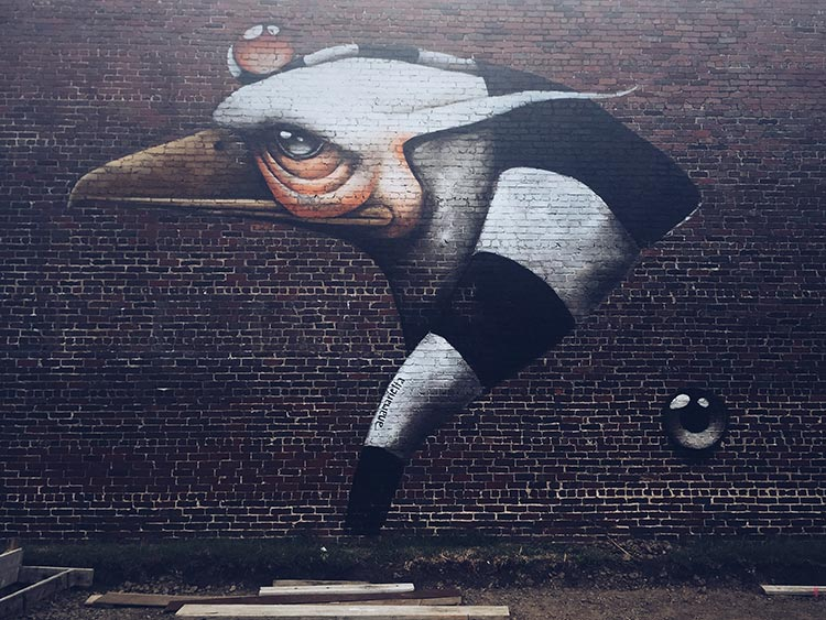 mural in Fort Smith, AR by Ana Maria