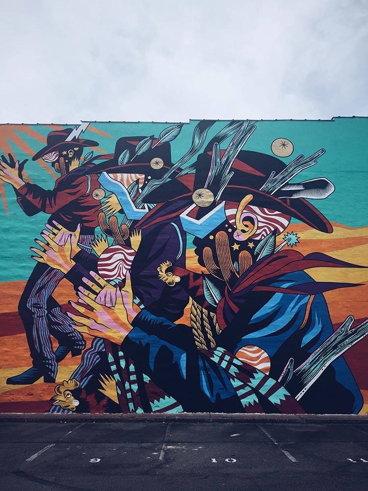 Bicicleta Sem Freio mural in Fort Smith, AR