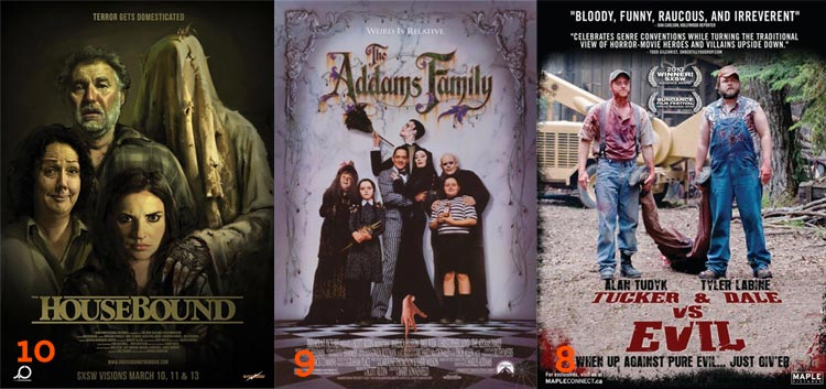 Westermonth Hallowatch 2015: Housebound, The Addams Family, and Tucker & Dale Vs. Evil
