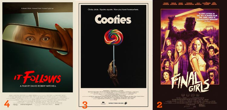 Westermonth Hallowatch 2015: It Follows, Cooties, and The Final Girls